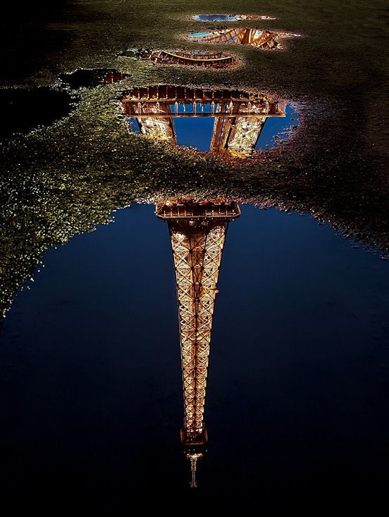 Reflections of An Iconic Tower
