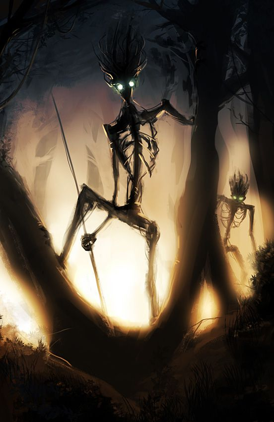 Sentinels of the Old Woods