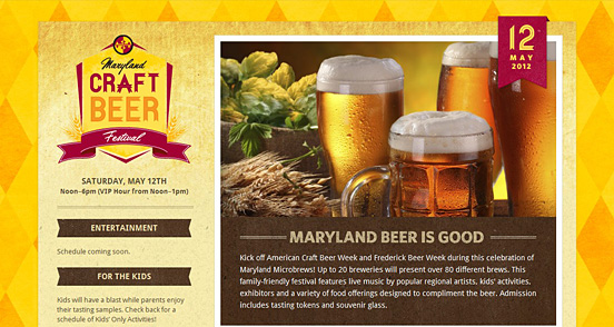 Maryland Craft Beer Fesitival