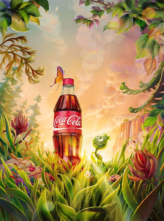 Plant Bottle Coca Cola