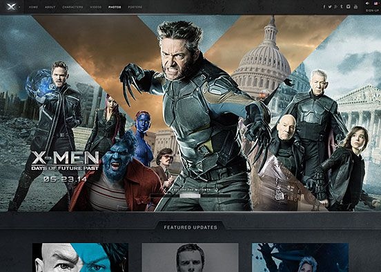 Days of Future Past Official Site