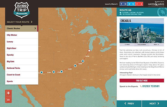 USA Road Trip Recommender
