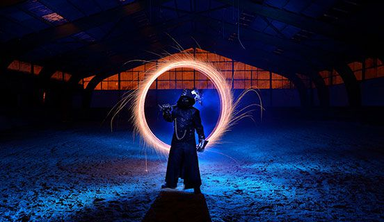 Light Painting Session