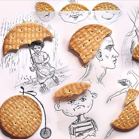 Here's Some Creative Biscuit Art