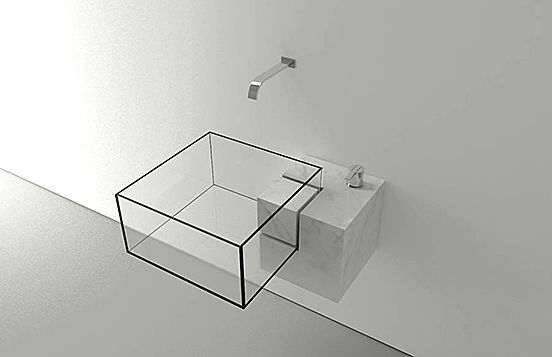 Invisible Bathroom Sink Mad