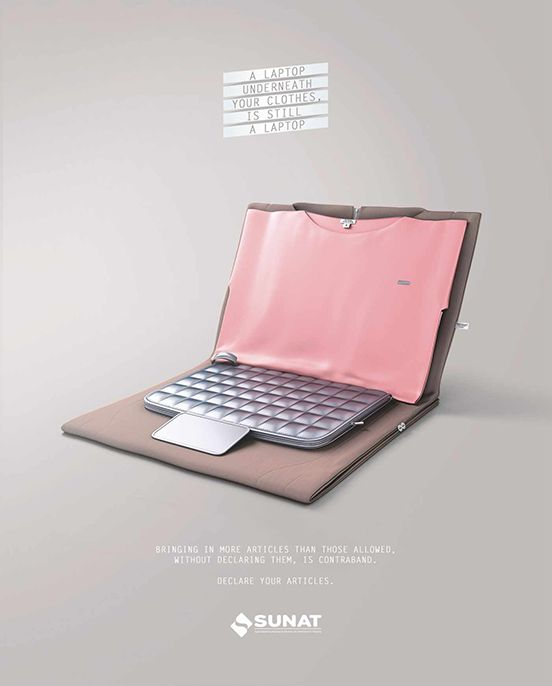 A Laptop Underneath Your Clothes is Still A Laptop.