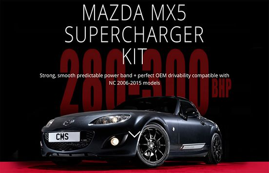 The MX5 Supercharger Kit