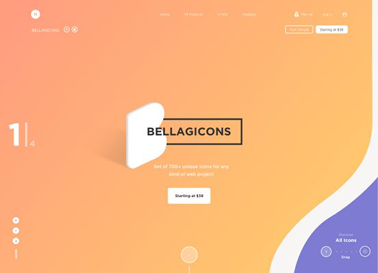 Bellagicons – Huge Icons Set